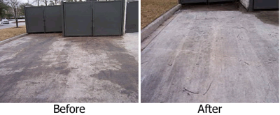Cleaning & Deodorizing Dumpsters & Surrounding Areas